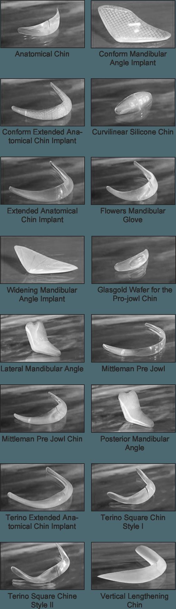 Facial Implant Options